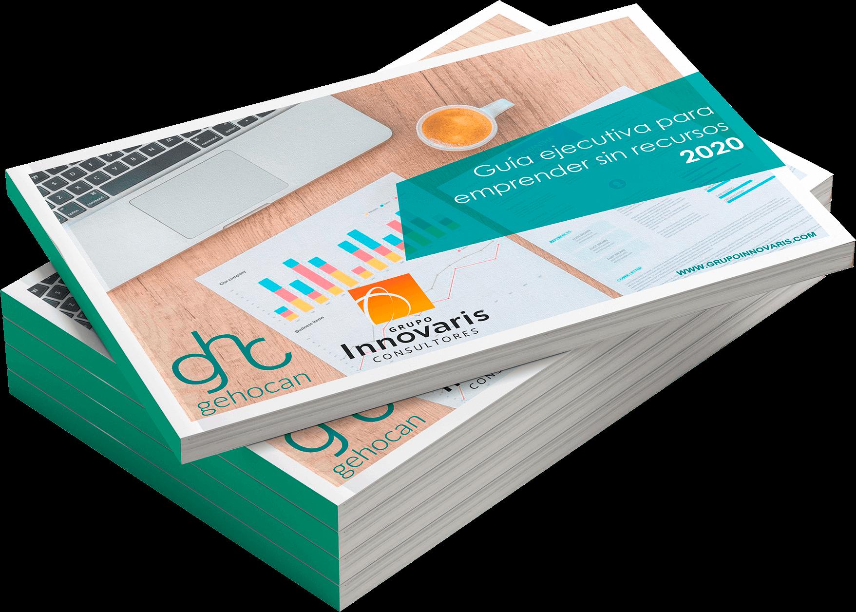 Guía para emprender sin recursos Innovaris Gehocan cover nomargin