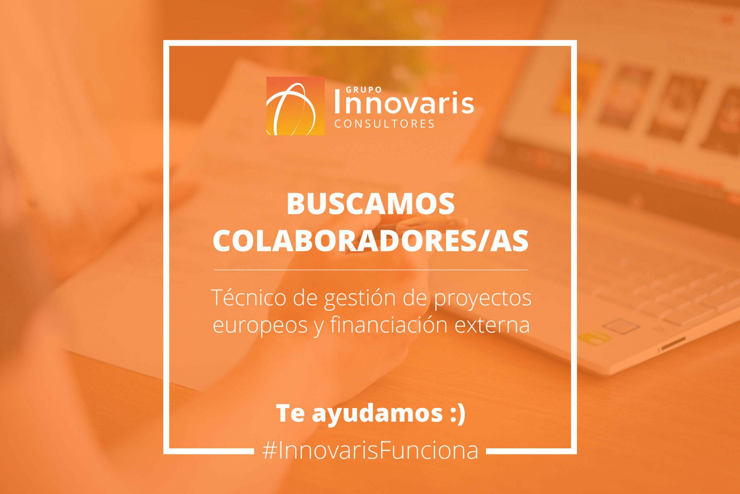 Colaboradores freelance técnico de gestión de proyectos europeos y financiación web