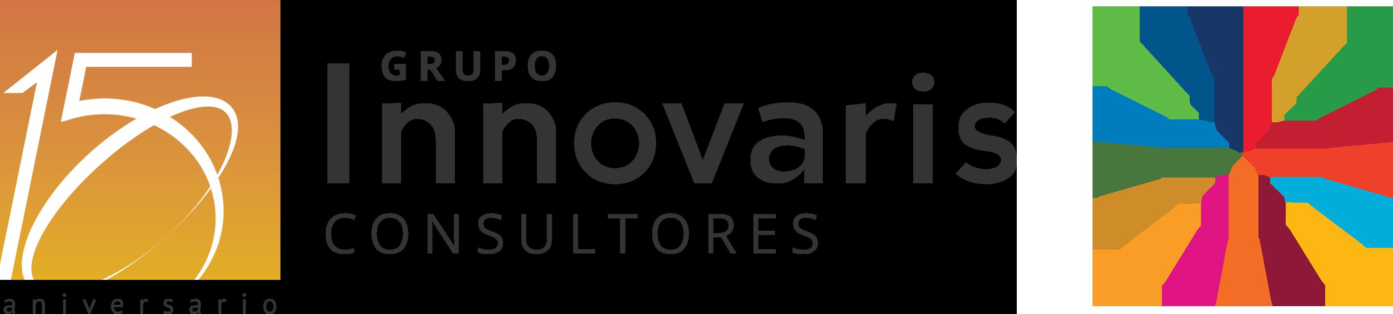 Logo Grupo Innovaris 15 Aniversario ODS