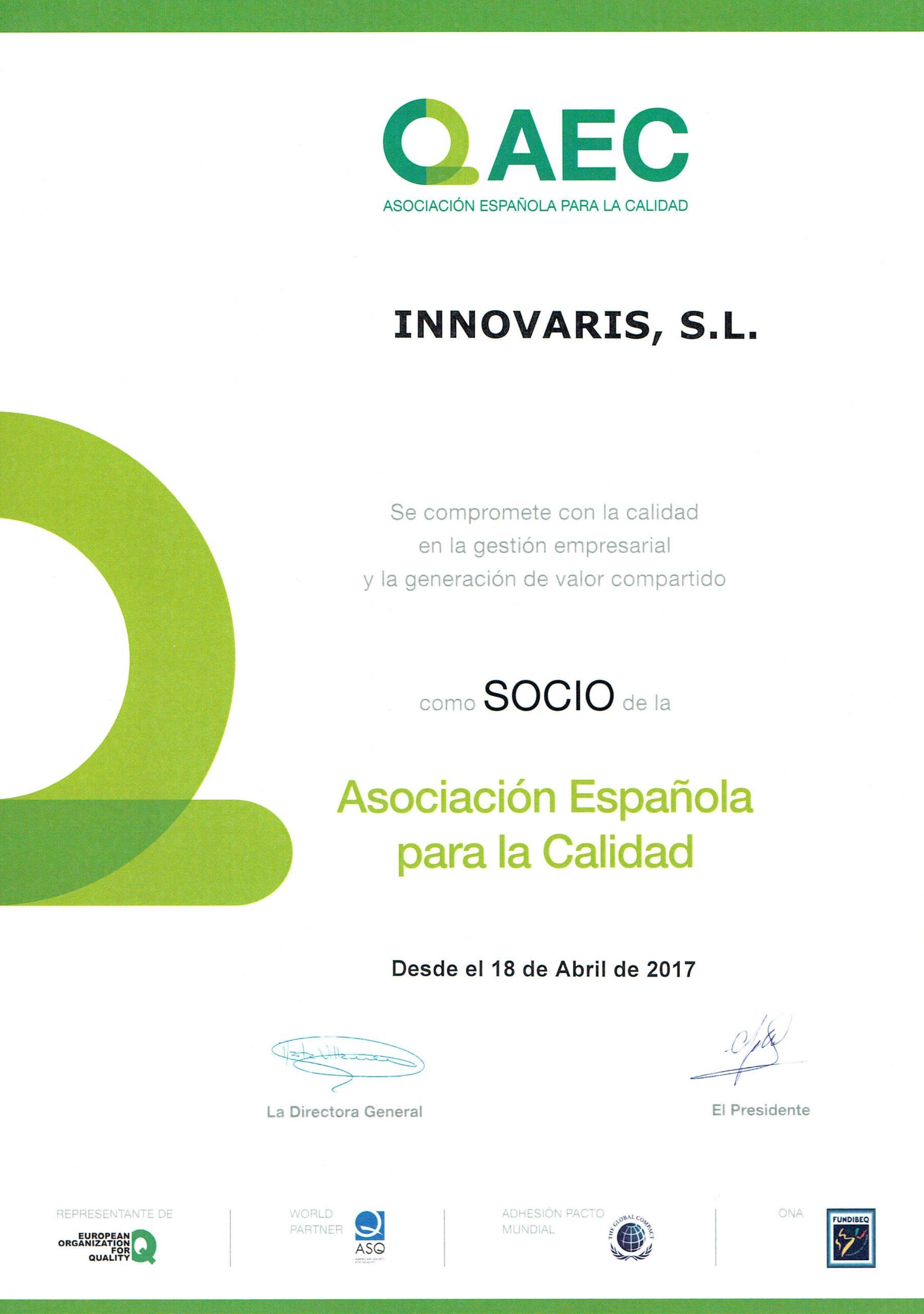 AEC - Asociación española para la calidad