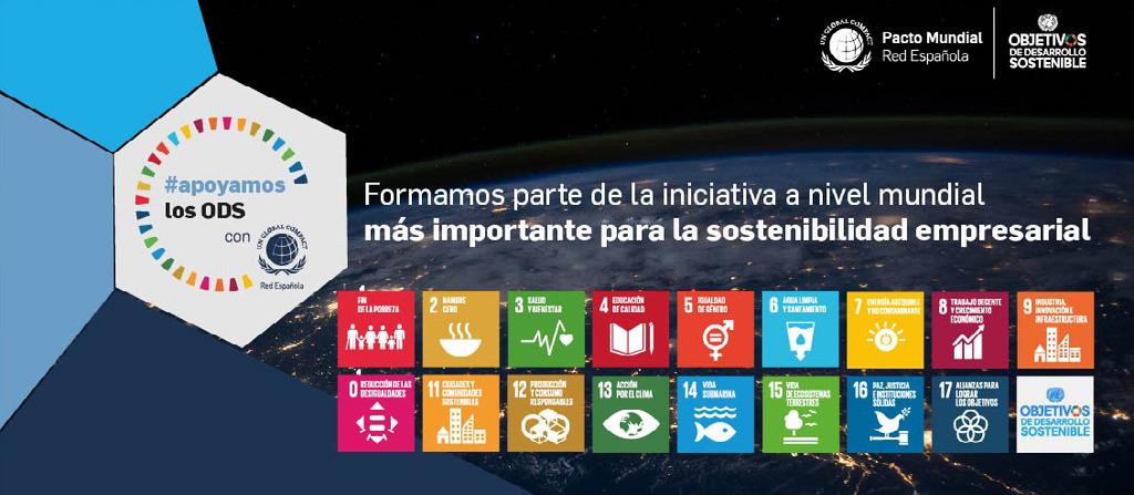 Apoyamos los ODS 5 aniversario de la Agenda 2030