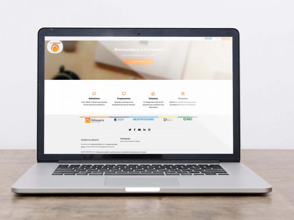 Grupo Innovaris InnConsul aplicación de gestión de procesos de participación pública